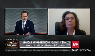 Małgorzata Kidawa-Błońska o nowej definicji gwałtu