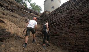 Badania archeologów w Pasłęku trwały pięć tygodni