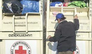 Kontenery Polskiego Czerwonego Krzyża znajdują się w całej Polsce