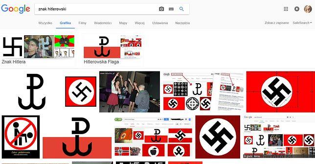 Google klasyfikują znak Polski Walczącej do symboli hitlerowski