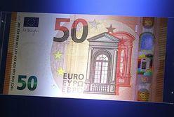 Europejski Bank Centralny zaprezentował nowy banknot 50 euro