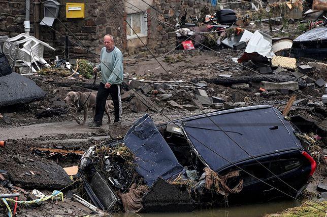 Powódź w Niemczech i Belgii. Trwa walka ze skutkami nawałnic