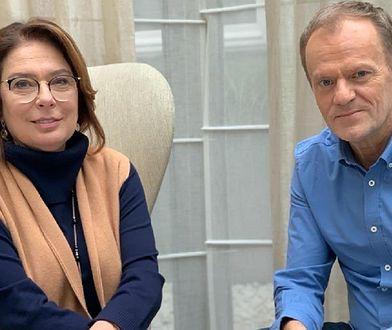 Wybory prezydenckie 2020. Donald Tusk spotkał się Małgorzatą Kidawą-Błońską