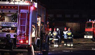IMGW ostrzega przed wichurami. Od soboty strażacy interweniowali ponad 300 razy