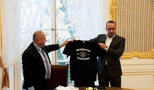 Legia Warszawa i UW podpisały porozumienie o współpracy