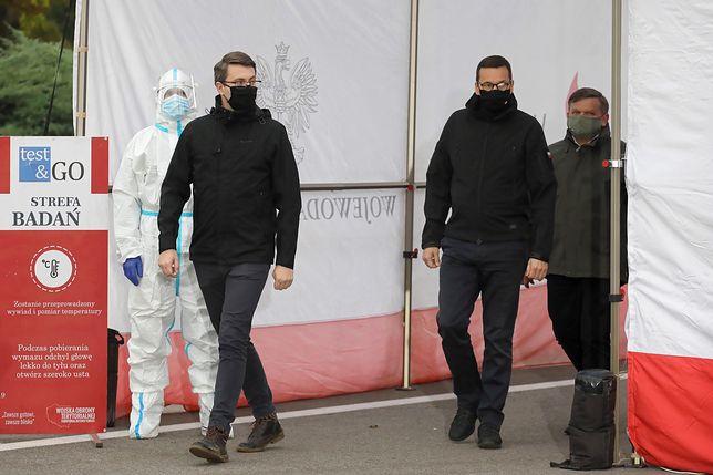 Koronawirus w Polsce. Rzecznik rządu Piotr Mueller na kwarantannie