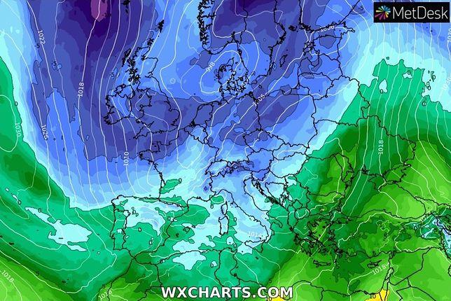 Pogoda na 2 dni. Polska pod wpływem niżu