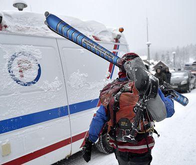 Pogoda. Alerty ratowników. Turyści na szlakach i akcja GOPR