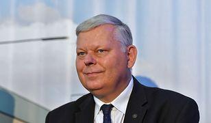 """Marek Suski zhakowany. Poseł PiS tłumaczy: """"Nie znam tej pani"""""""