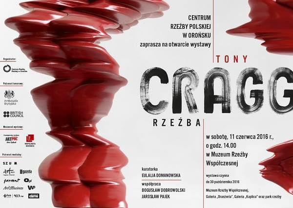 Wystawa rzeźby Tony Cragga w Centrum Rzeźby Polskiej w Orońsku