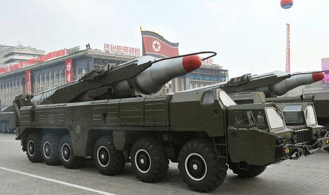 Odpalenie rakiety obserwował osobiście przywódca Korei Północnej Kim Dzong Un