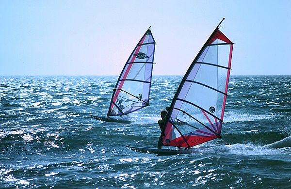 Peter Chilvers - windsurfing