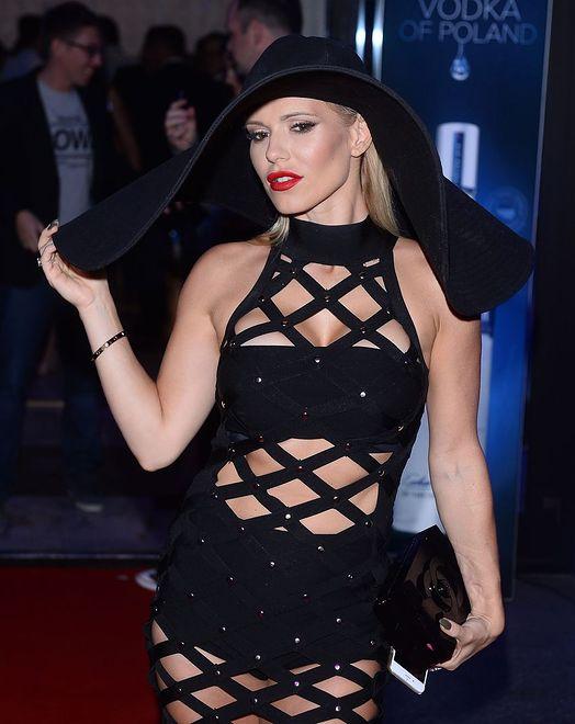 Seksowna i elegancka Doda na imprezie 4FunTV