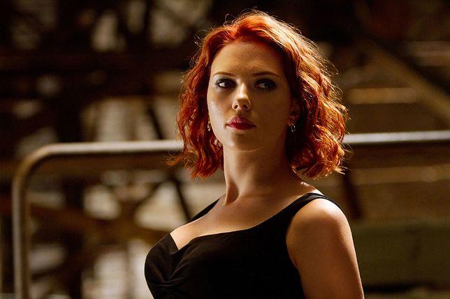 Scarlett Johansson w roli Czarnej wdowy