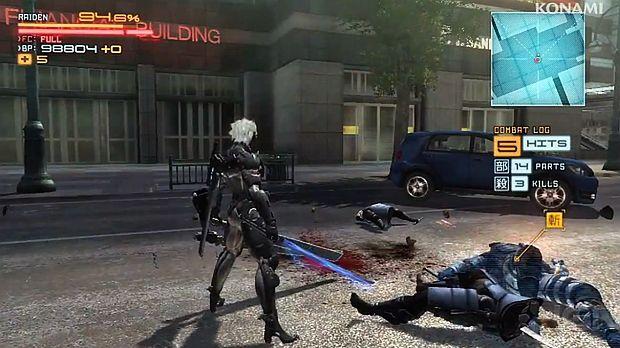 Wielcy faceci i ich wielkie zabawki w Metal Gear Rising: Revengeance