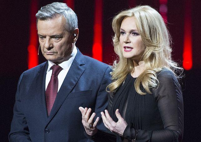 Jerzy Baczyński i Grażyna Torbicka na scenie Teatru Wielkiego