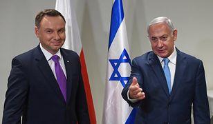 Prezydent Andrzej Duda chce, by Izrael zakończył kryzys w relacjach z Polską