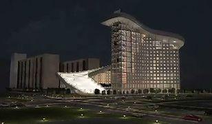 Zjazd na nartach z dachu budynku? Nietypowy projekt architektów z Kazachstanu