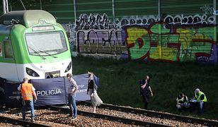 Warszawa. Zmarł mężczyzna potrącony przez pociąg