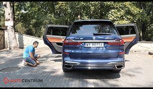 BMW X7: powodzenia z szukaniem miejsca