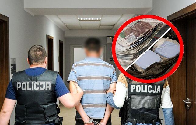 6 kilogramów narkotyków. 24-latek w areszcie