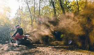 Świętokrzyskie. Leśne pułapki na motocyklistów