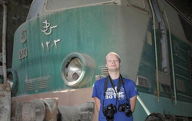Michał Bis odnalazł polskie lokomotywy w Libanie