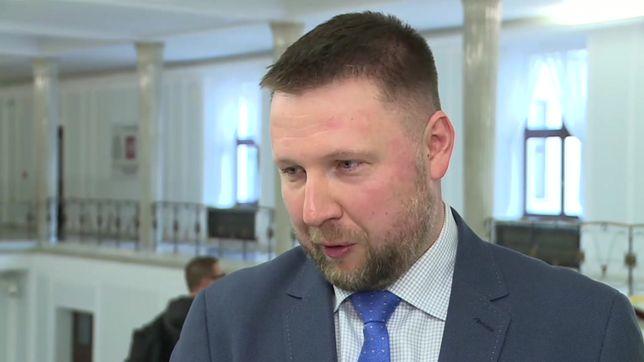 Dominik Tarczyński zawiadamia prokuraturę ws. działań Marcina Kierwińskiego