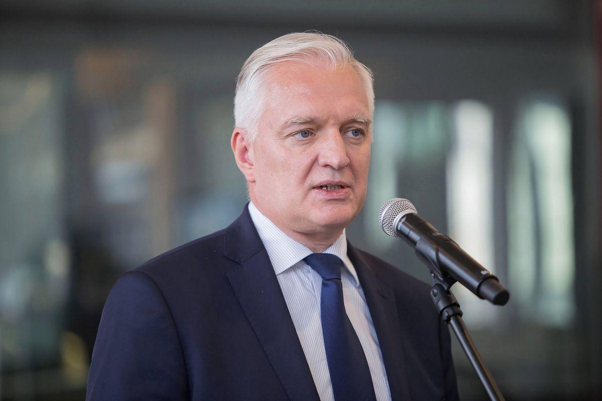 """Jarosław Gowin nie zgadza się z Jarosławem Kaczyńskim. """"Nie powiedziałbym tak"""""""
