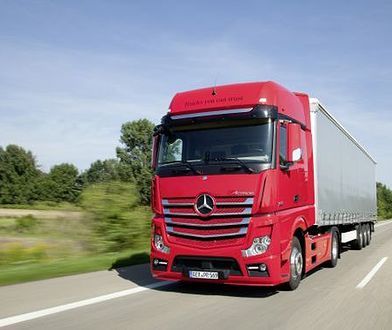 Nowy tempomat dla używanych ciężarówek Mercedes-Benz