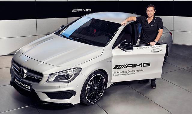 Michał Kościuszko z Mercedes-AMG