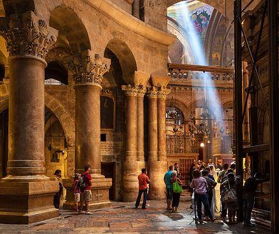 Jerozolima - Kaplica Grobu Pańskiego odrestaurowana