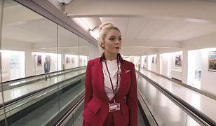 Emma Ashley to stewardesa i bohaterka najnowszego wideo Virgin Atlantic