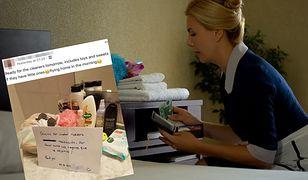 Brytyjka Lizzie Hanbury została skrytykowana za zdjęcie napiwku, jaki zostawiła obsłudze hotelu