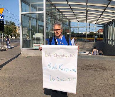 Olgierd Łukaszewicz: działanie policji odbieram jako zastraszanie