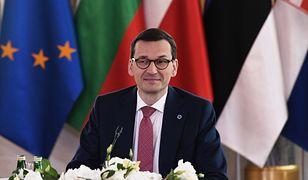 "Premier Mateusz Morawiecki podczas szczytu ""Together for Europe - High Level Summit"""