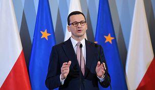 Koronawirus w Polsce. Premier Mateusz Morawiecki