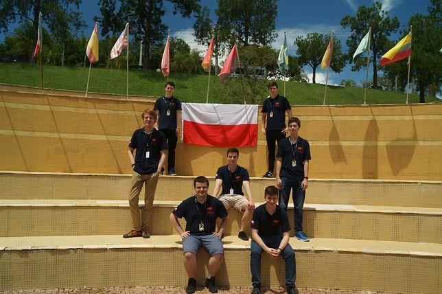 Polscy studenci na konkursie w Brazylii