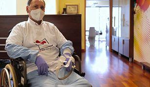 Koronawirus w Polsce. Wirus zniszczył mu płuca. Potrzebny był przeszczep