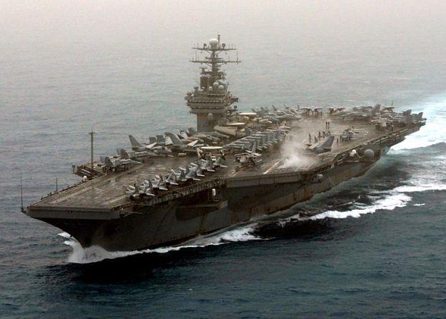 Lotniskowiec USS Theodore Roosevelt