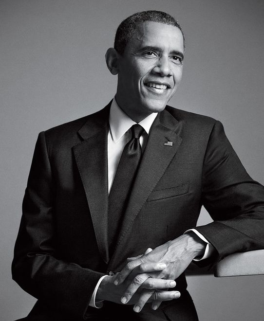 Barack Obama w GQ Men