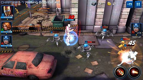 MARVEL Future Fight na weekend