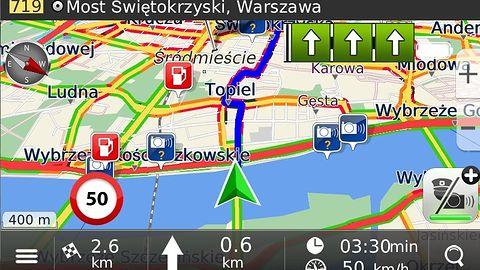 MapaMap 8.7 to nowe mapy i algorytm wyznaczania trasy