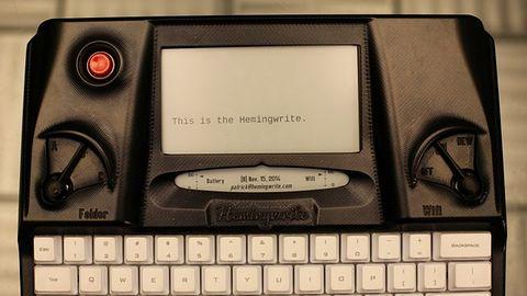Hemingwrite – maszyna do pisania na papierze… elektronicznym