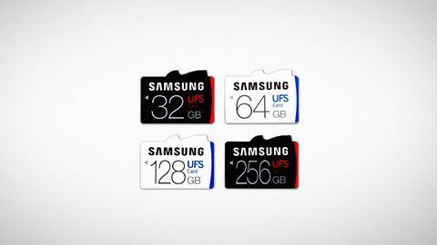 Karty pamięci UFS Samsunga z osiągami szybkich dysków SSD