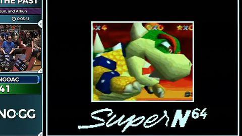 Robot zagrał w Super Mario 64 i Portala na kultowej konsoli SNES