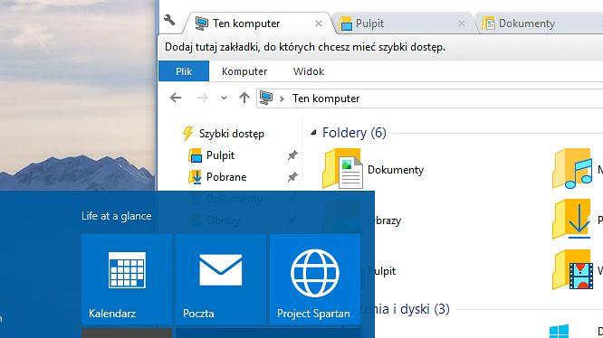 Microsoft słucha użytkowników, ale kart do Eksploratora nie doda
