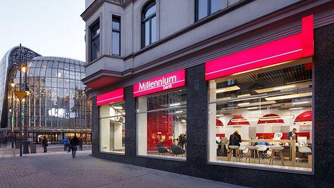 Bank Millennium ostrzega: nocna przerwa w dostępie do usług