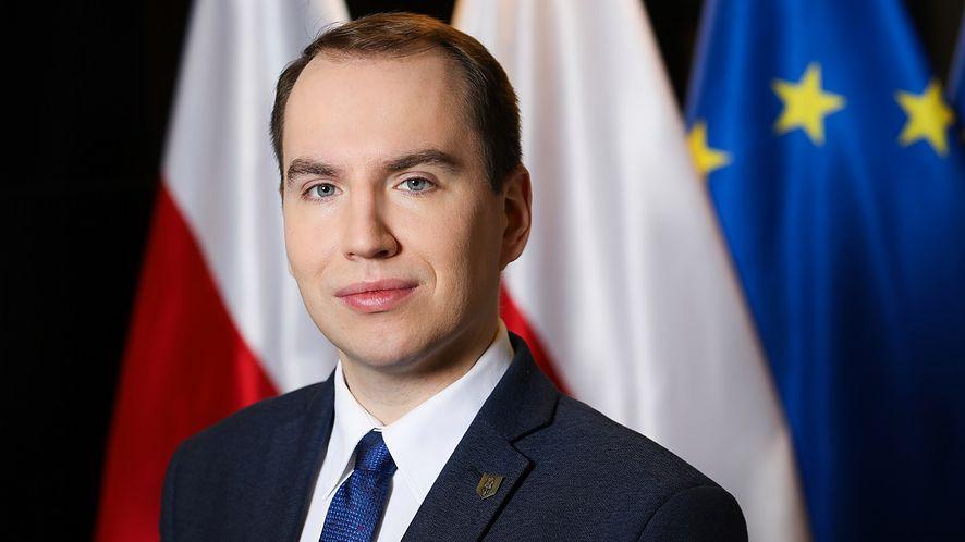 Wiceminister cyfryzacji Adam Andruszkiewicz