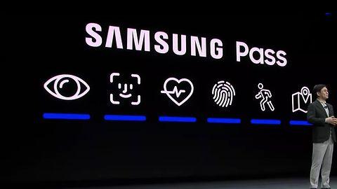 """Samsung """"pożyczył"""" sobie ikonę Apple Face ID"""